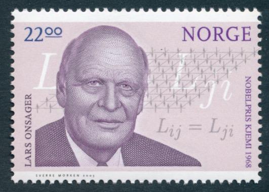 NK 1518. **. 22,00 kr  Norske Nobelprisvinnere - Lars Onsage